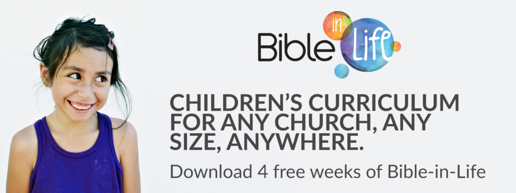 Bible in Life Curriculum Trial